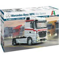 Italeri Model Kit truck Mercedes-Benz MP4 Big Space 1:24