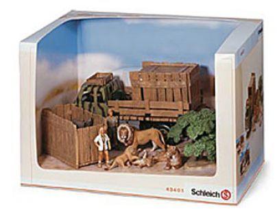 """Schleich 43401 - Set """"život v divočině"""""""