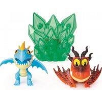 Spin Master Jak vycvičit draka Multi dárkové balení Zelený křišťál