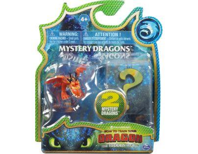 Spin Master Jak vycvičit draka Sběratelské figurky dvojbalení červený