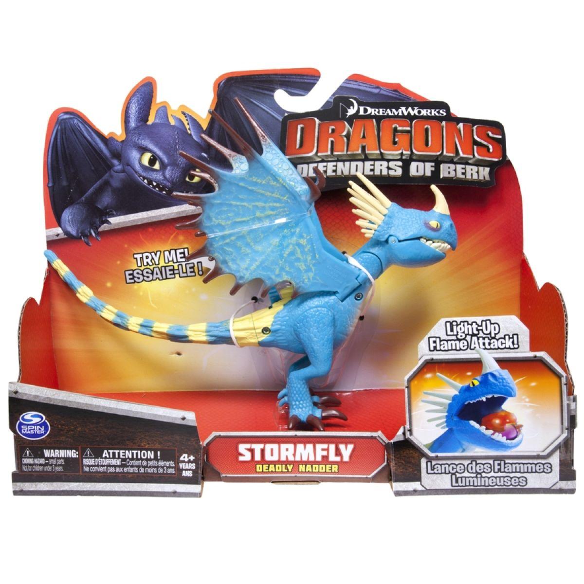 Dragons Akční figurky draků - Stormfly