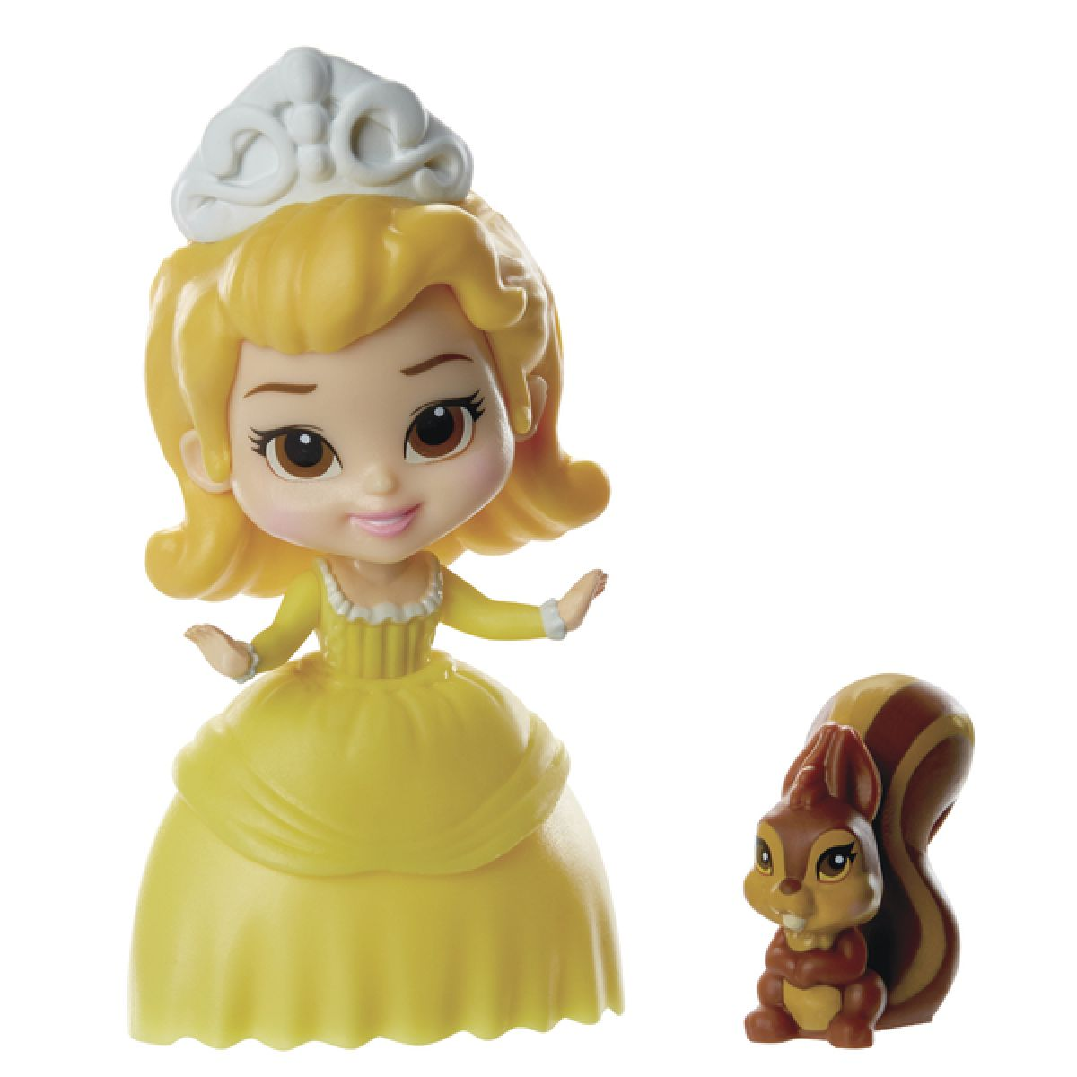 Jakks Pacific Disney Mini princezna a kamarád - Amber and Whatnaught
