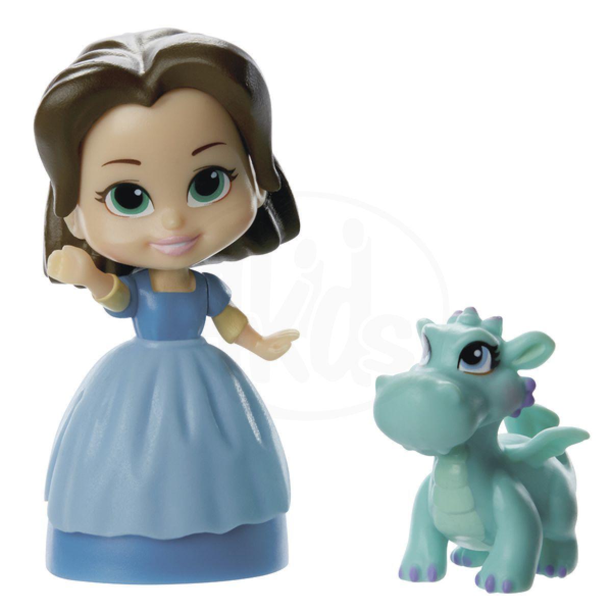 Jakks Pacific Disney Mini princezna a kamarád - Jade and Crackle