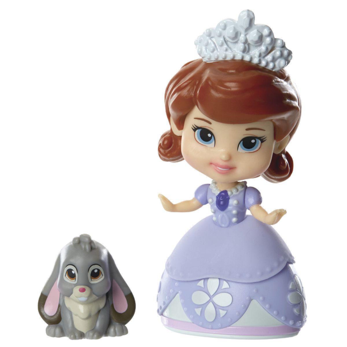Jakks Pacific Disney Mini princezna a kamarád - Sofia and Clover
