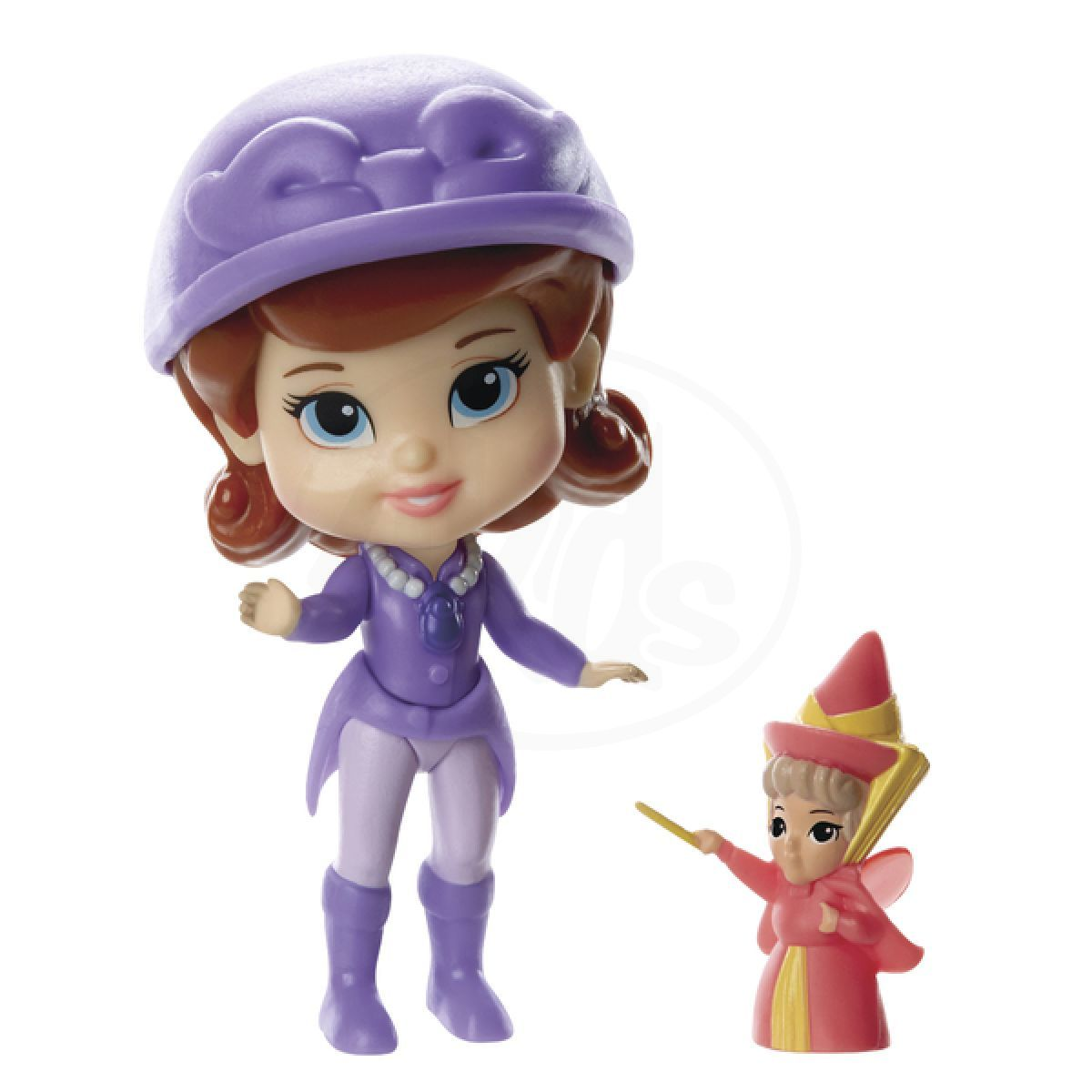Jakks Pacific Disney Mini princezna a kamarád - Sofia and Flora