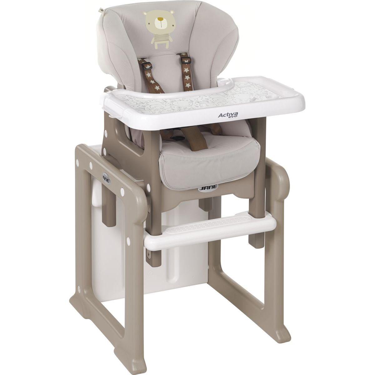 Jané Activa Evo jídelní židle T58 Edice dřevo