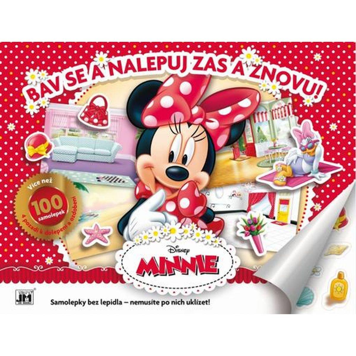 Jiří Models Disney Minnie Samolepkové album