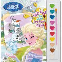 Jiri Models Disney Omalovánky s barvami A4 Ledové království
