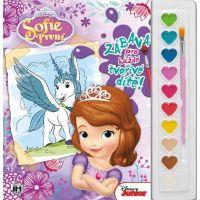 Jiri Models Disney Omalovánky s barvami A4 Sofie První