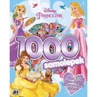 Jiri Models Disney Princess 1000 samolepek s aktivitami Princezny