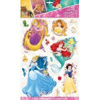 Jiri Models Disney Princess 3D samolepky na zeď Princezny