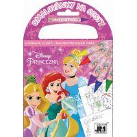 Jiri Models Disney Princess Omalovánky na cesty Princezny