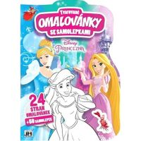Jiri Models Disney Princess Tvarované omalovánky
