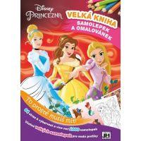 Jiri Models Disney Princess Velké knihy omalovánek a samolepek