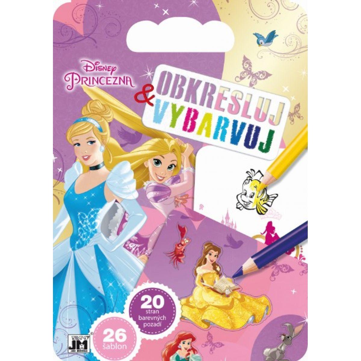 Jiří Models Disney princezny Obresluj a vybarvuj