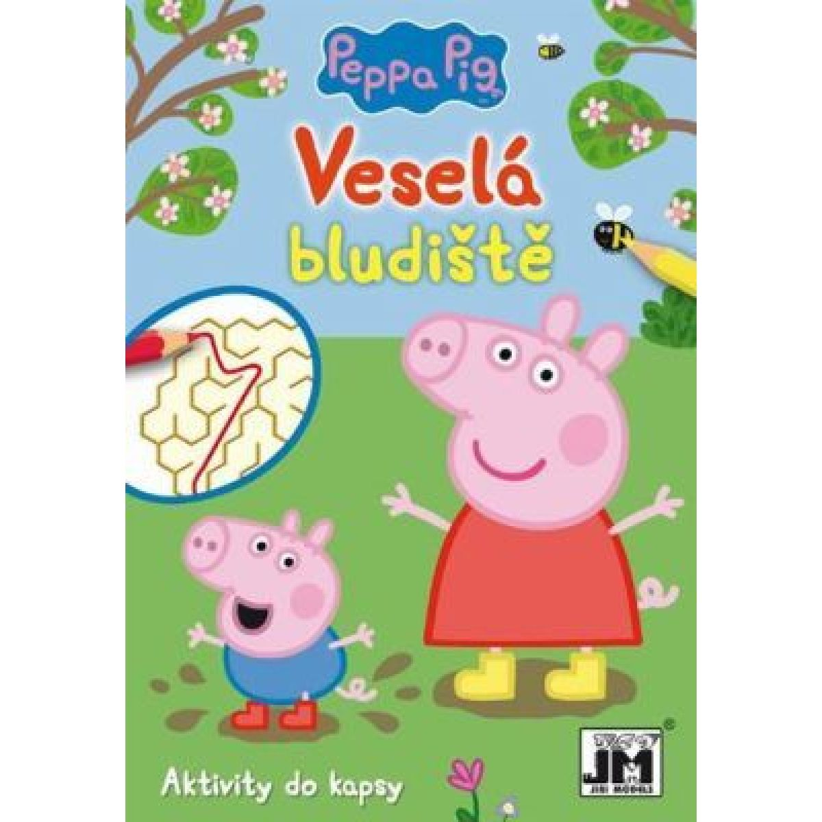 Jiri Models Do kapsy Peppa bludiště