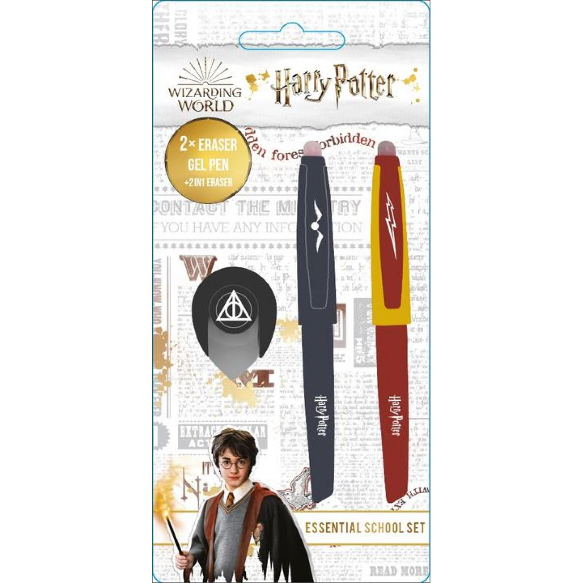 Jiri Models Gumovacie pera Harry Potter