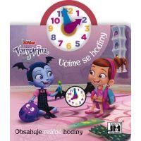 Jiri Models Kniha s hodinami Vampirina