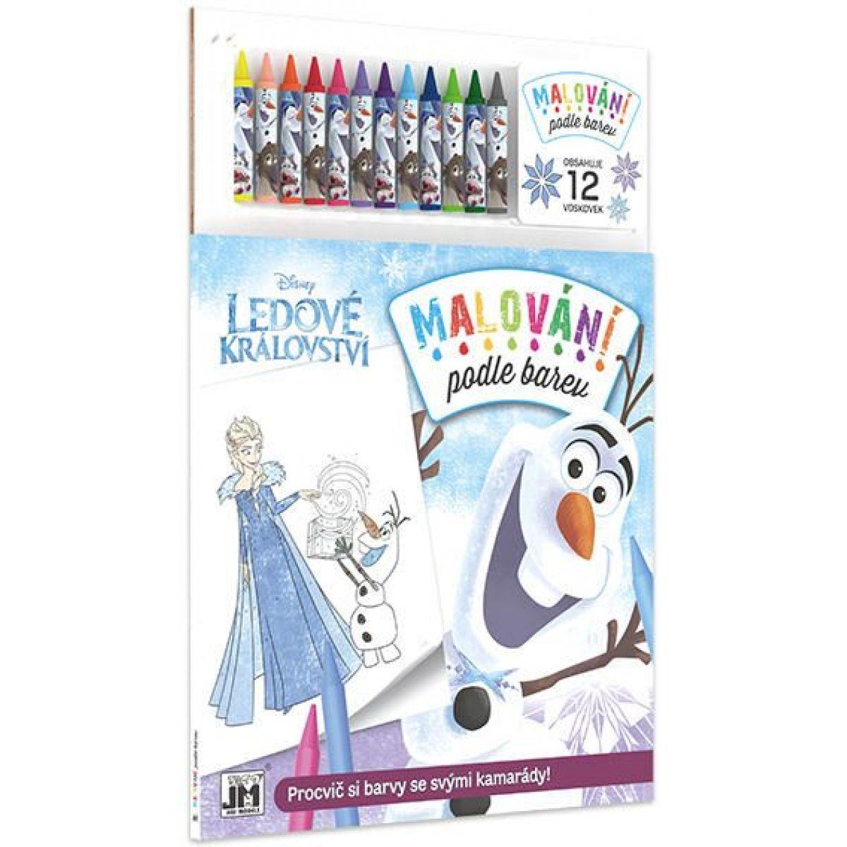 Jiri Models Ledové království Malování dle barev Vánoce Olaf
