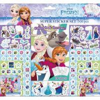 Jiri Models Ledové království Samolepkový set Frozen 500 dílků