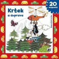 JIRI MODELS 4100505 - Magnetická knížka / Krtek a doprava
