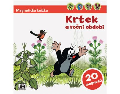 JIRI MODELS 4100501 - Magnetická knížka / Krtek a období