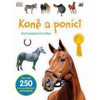 Jiri Models Naučné samolepkové knížky Koně a poníci