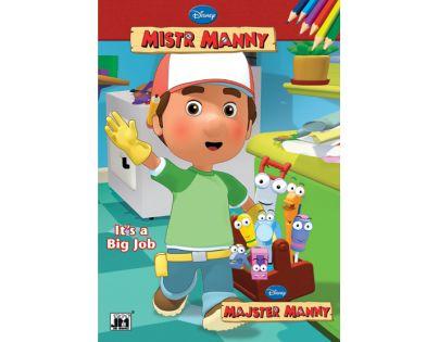 ri Models Handy Manny Licence Omalovánky A4 Mistr Manny