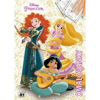Jiri Models Omalovánky Disney Princess A4