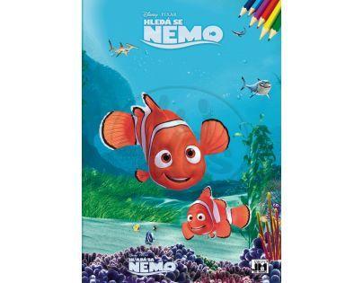 Jiri Models Omalovánky A4 Hledá se Nemo