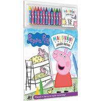 Jiri Models Peppa Pig Malování podle barev Prasátko Peppa