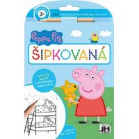 Jiří Models Peppa Pig Šikovné ručičky Šipkovaná