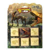 JIRI MODELS 1036101 - Dinosaurus razítka 5 + 1