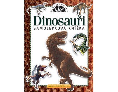 JIRI MODELS 293522 - Samolepková knížka - Dinosauři