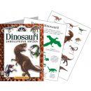 JIRI MODELS 293522 - Samolepková knížka - Dinosauři 2