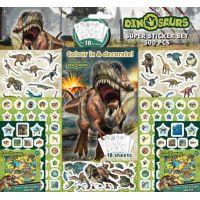 Jiri Models Samolepkový set 500 ks Dinosauři