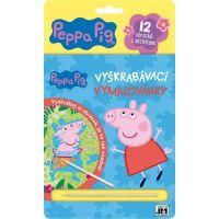 Jiri Models Škrabací obrázky Peppa Pig