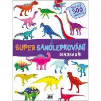 Jiri Models Super samolepkování Dinosauři