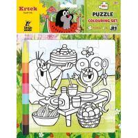 Jiri Models Vybarvovací puzzle Krtek