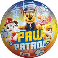 John Míč Paw Patrol 23 cm barevný s nápisem Paw Patrol
