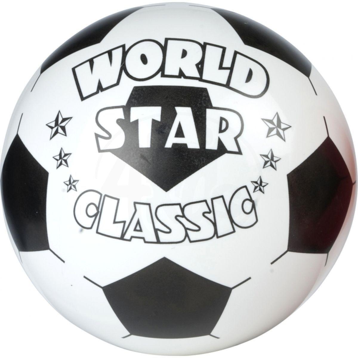 John Míč World Star 22 cm Bílý