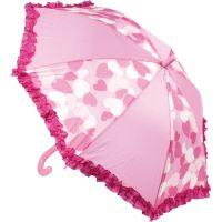 John toys Deštník vystřelovací růžový