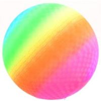 John Toys Duhový míč 20 cm