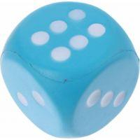 John toys Hrací kostky pěnové velké Modrá