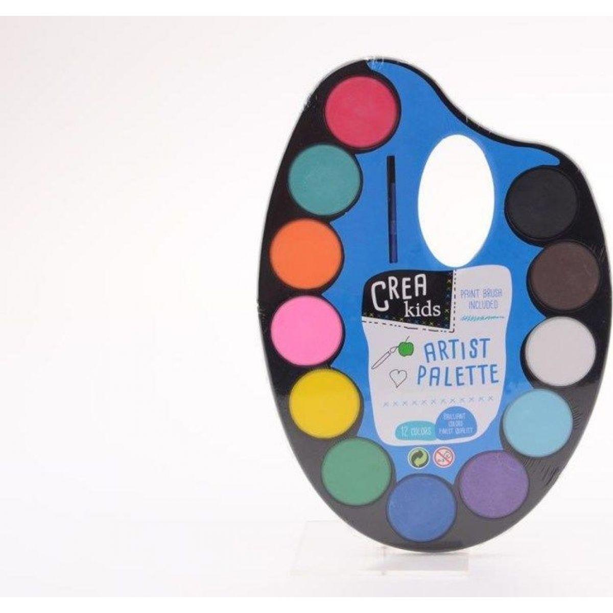 John toys Malířská paleta s vodovkami 12 barev