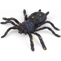 John toys Natahovací zvířata černý pavouk