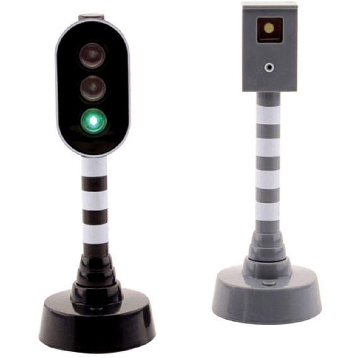Johntoy Semafor s kamerou na měření rychlosti se světlem a zvukem