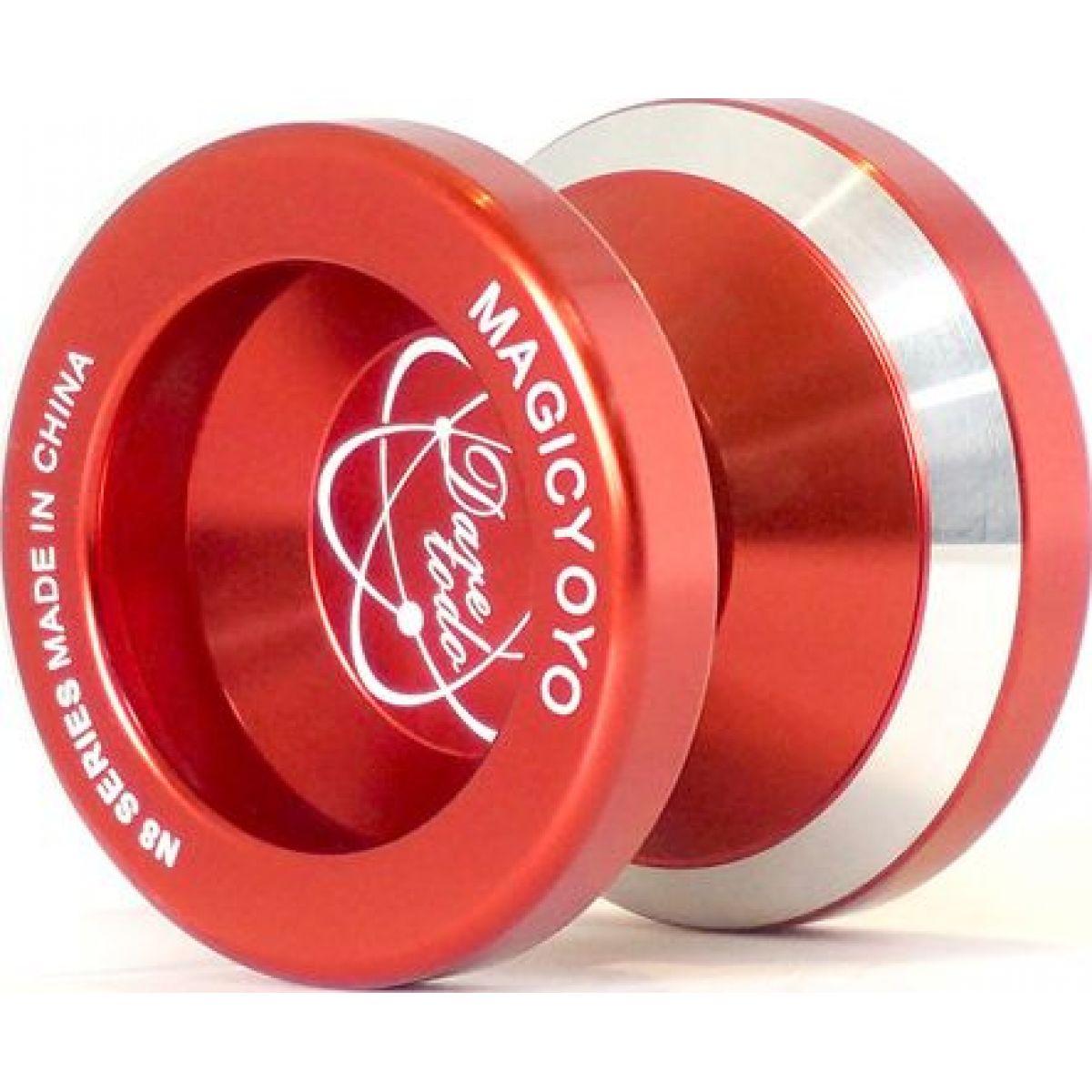 Jojo N8 - Dare to do 48mm kovové s ložiskem - Červená