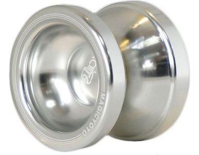 Jojo T6 - Rainbow 50mm kovové s ložiskem - Stříbrná