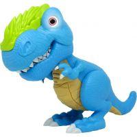 Junior Megasaur ohebný a kousací T-Rex modrý